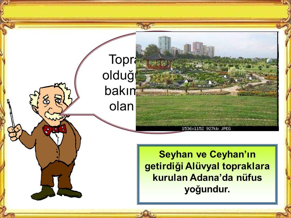 Toprağın elverişsiz olduğu yerlerde nüfus azdır Tuz gölü çevresinde, toprak çok kurak olduğu için nüfus bakımından Türkiye'nin en tenha yerlerindendir