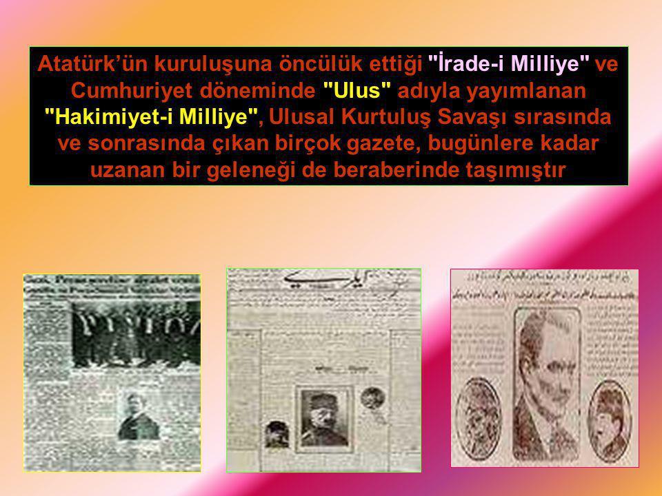 Atatürk'ün kuruluşuna öncülük ettiği