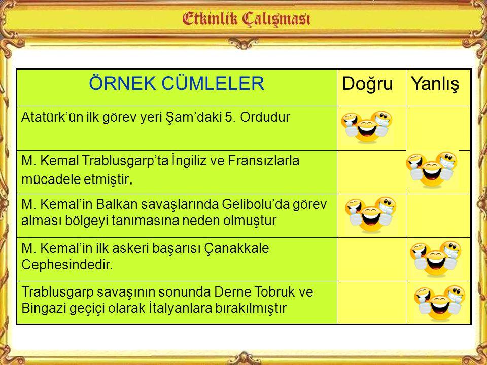  Şam  Manastır  Selanik  Trablusgarb  Gelibolu  Çanakkale  Muş, Bitlis  Suriye Cephesi Osmanlı Devleti I. Dünya savaşından Mondros Ateşkes anl