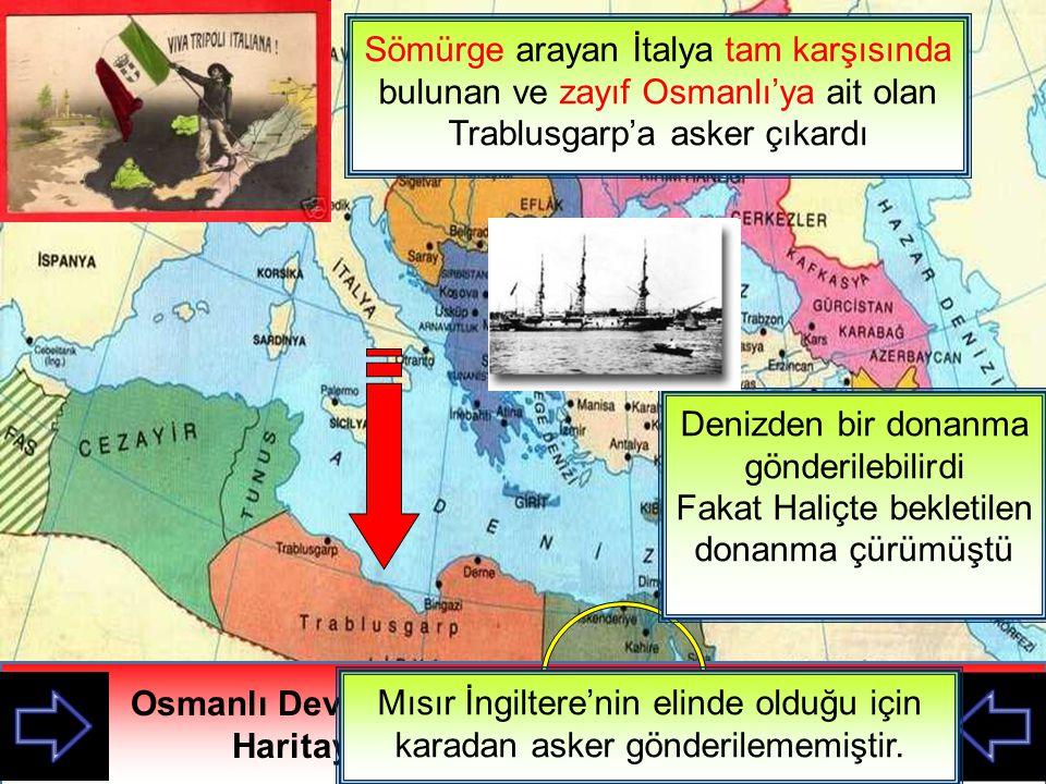 Sömürge arayan İtalya tam karşısında bulunan ve zayıf Osmanlı'ya ait olan Trablusgarp'a asker çıkardı İtalya'nın saldırma sebebi nedir.