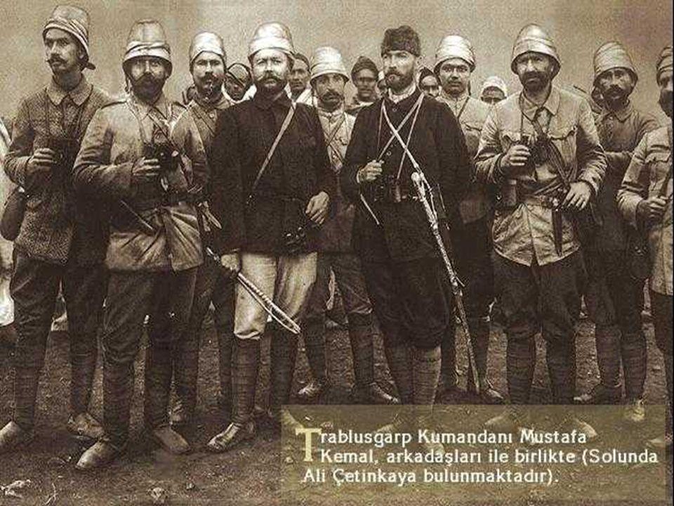  Şam  Manastır  Selanik  Trablusgarb Bunun üzerine ben ve bazı arkadaşlarım kılık değiştirerek Mısır üzerinden Trablusgarb'a giderek halkı örgütledik.