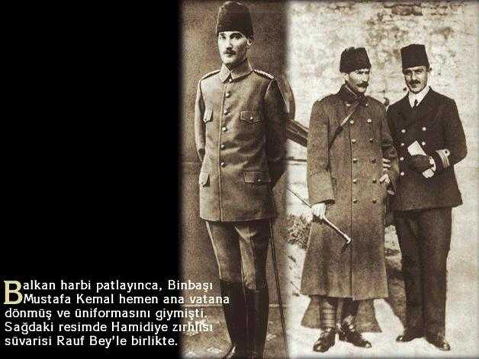  Şam  Manastır  Selanik  Trablusgarb  Gelibolu Balkan Devletlerinin Gelibolu tarafından çıkarma yapma ihtimaline karşı buraya görevlendirilmiştir