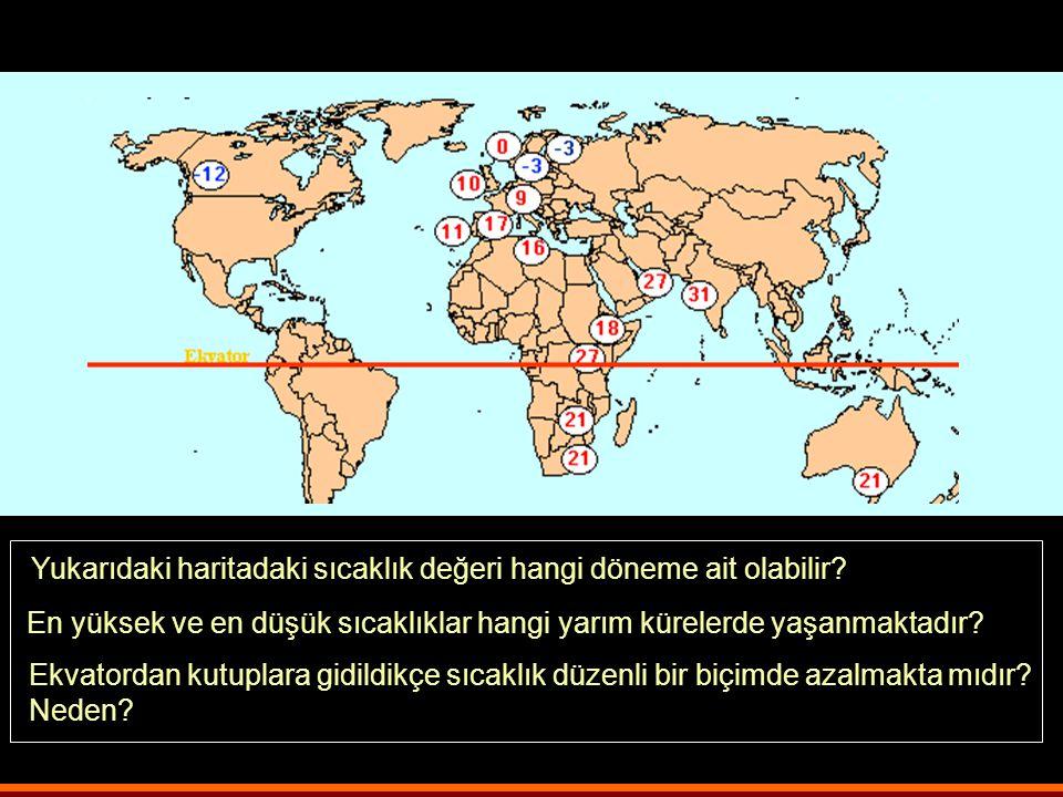 Kuzey yarım kürede ağaçların yosun tutan tarafı hangi yönü gösterir? Neden? Eğim ve bakı sıcaklığı nasıl etkiler? Türkiye'de kiralamak ya da satın alm