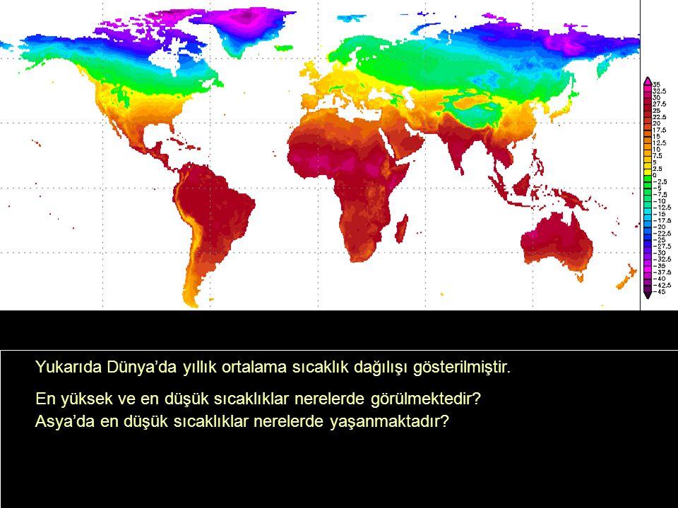 Güney kıyılarımız ekvatora daha yakın olduğu için daha sıcaktır