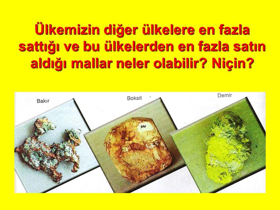 İTHALAT Türkiye'de ithalat ürünle- rinde en fazla payı sanayi ü- rünlerinin tut- masının nedeni ne olabilir?Türkiye'de ithalat ürünle- rinde en fazla payı sanayi ü- rünlerinin tut- masının nedeni ne olabilir?