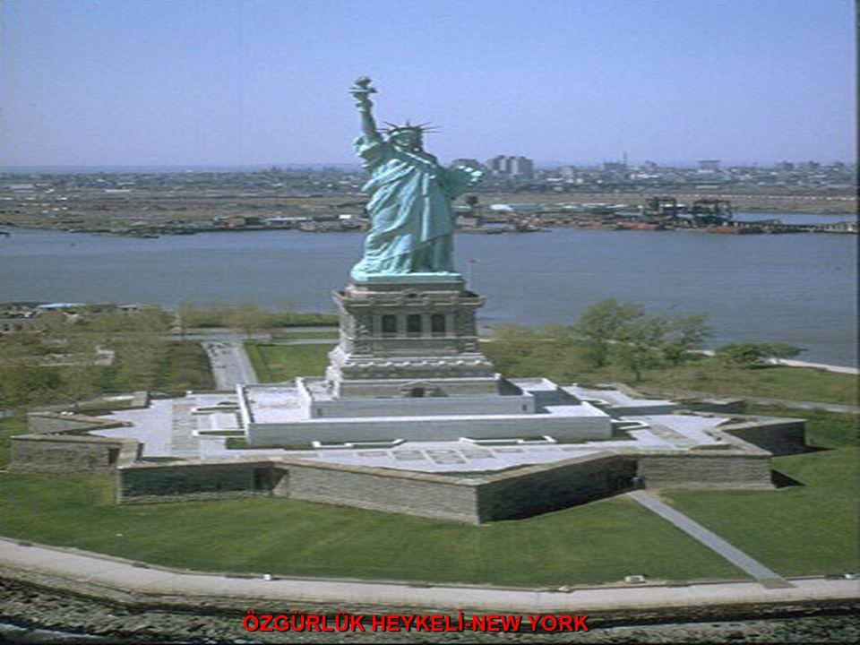 ÖZGÜRLÜK HEYKELİ-NEW YORK