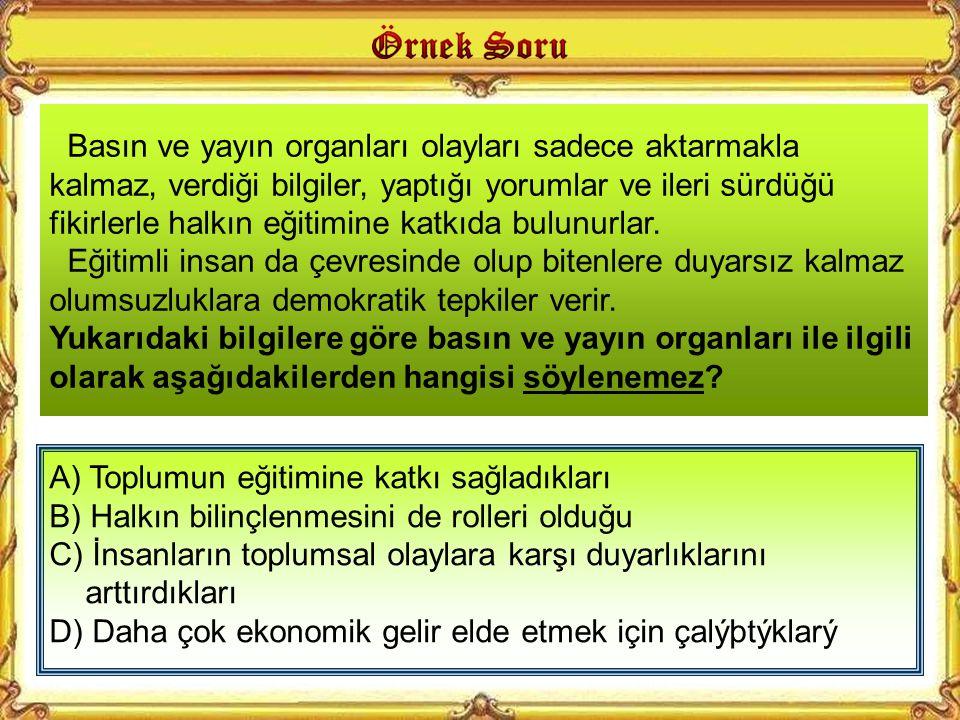 A) 1 B) 2 C) 3 D) 4 Aşağıda bazı Sivil Toplum Kuruluş (STK)ların amaçları verilmiştir.