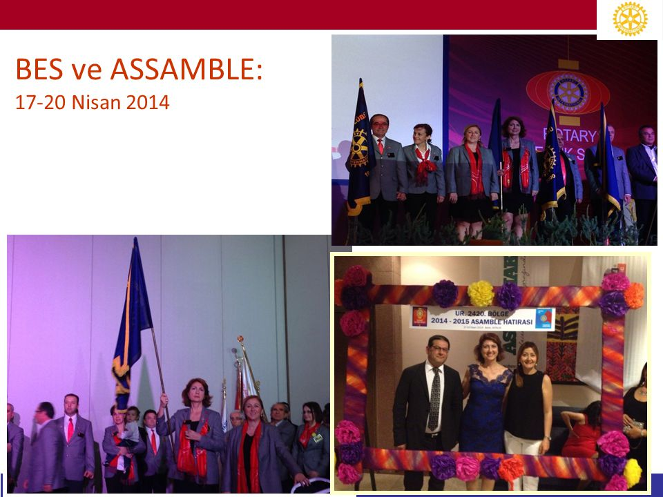 BES ve ASSAMBLE: 17-20 Nisan 2014
