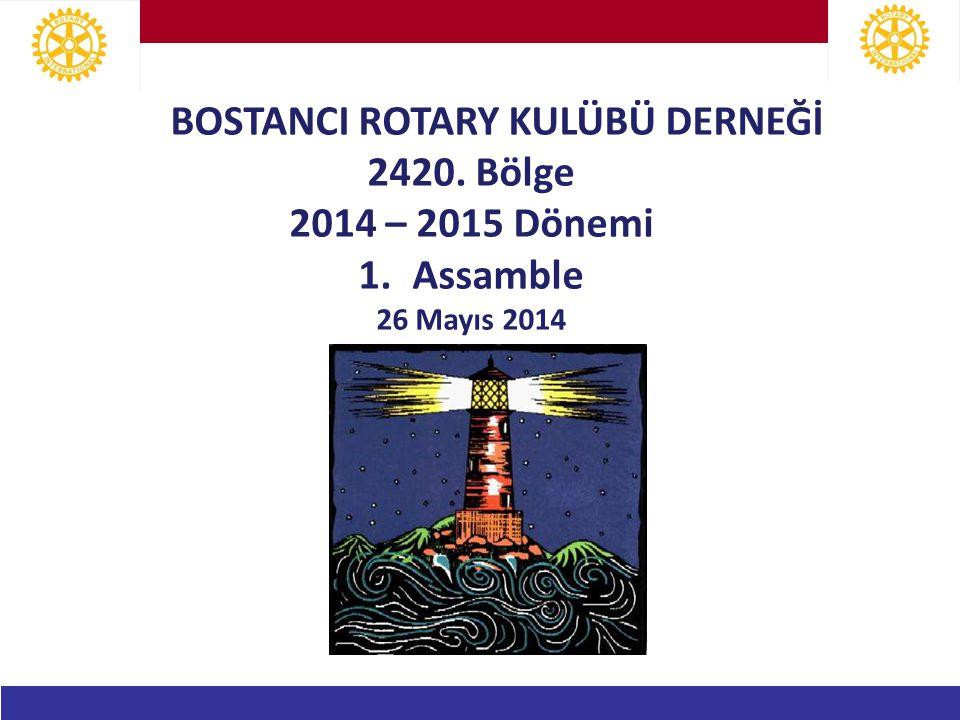 Bostancı Rotary Kulübü Derneği BUGÜNE NASIL GELDİK: Başkanlar Tanışma Toplantısı