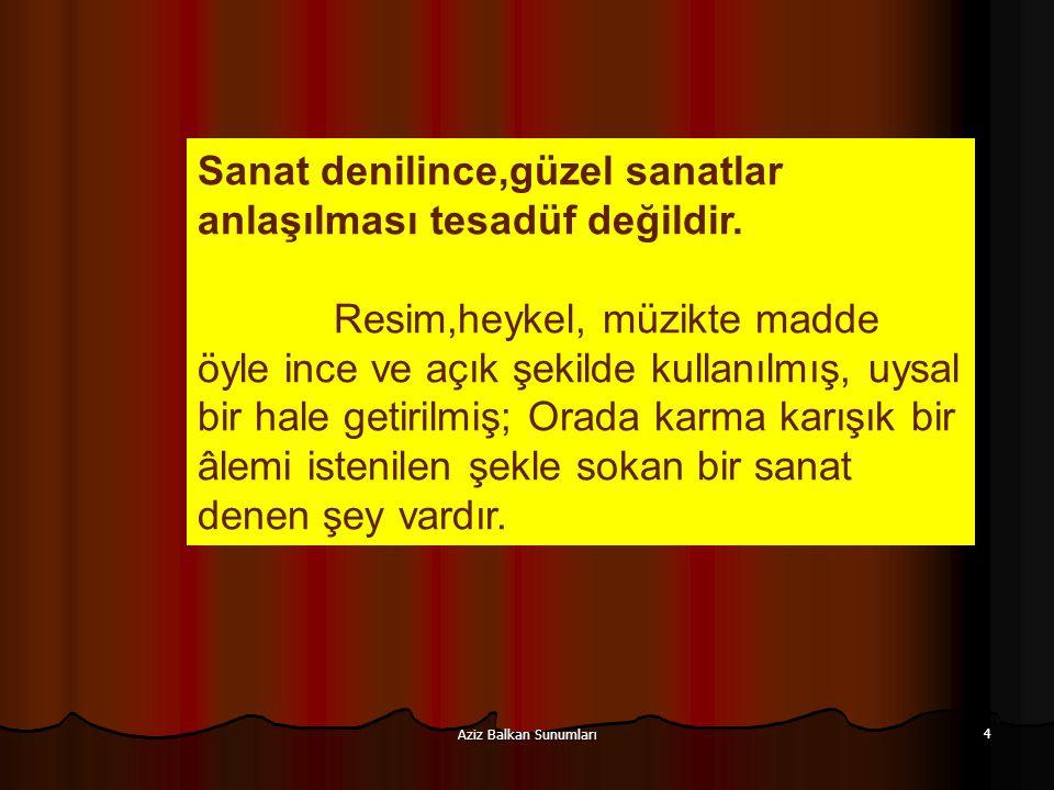 Aziz Balkan Sunumları 65.