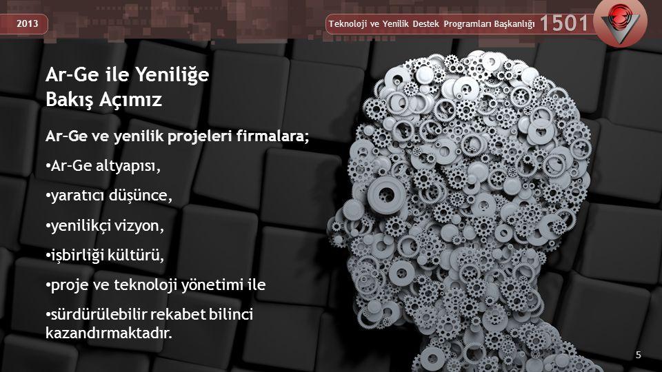 Teknoloji ve Yenilik Destek Programları Başkanlığı 1501 2013 TÜBİTAK TEYDEB Yapılanması 26 Teknoloji ve Yenilik Destek Programları Başkanlığı 1501 2013