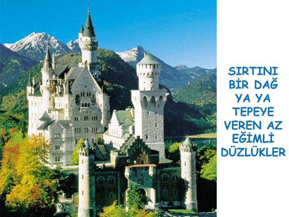 YERLEŞMELERİ SINIRLANDIRAN FAKTÖRLER 1.