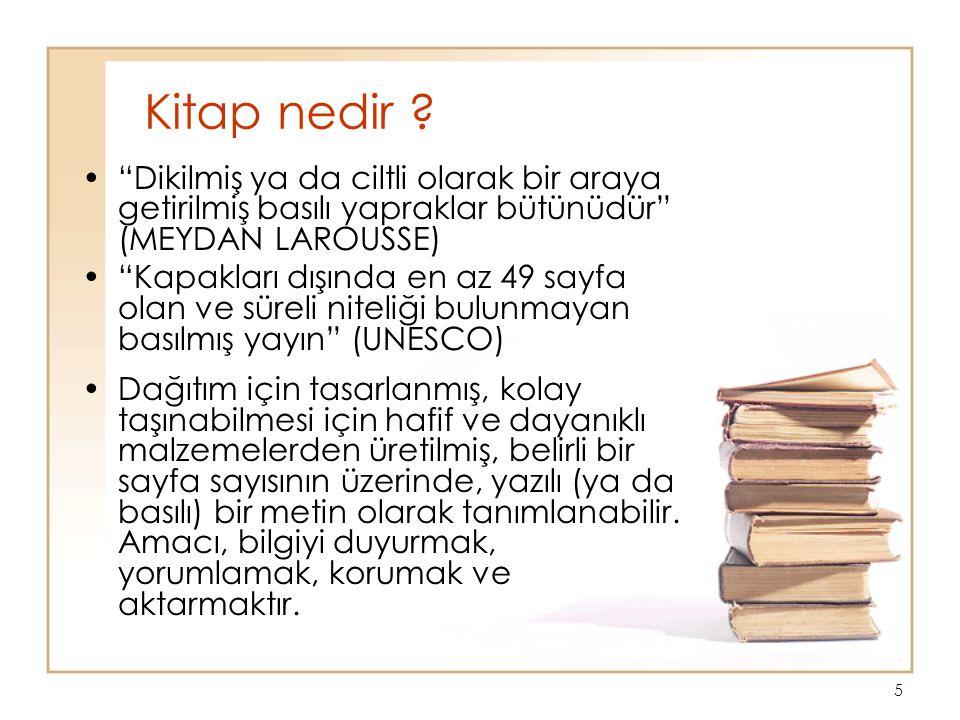 5 Kitap nedir .