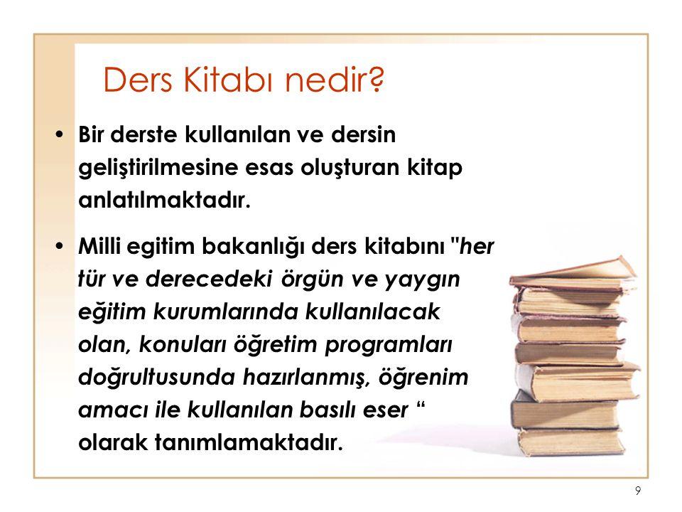 9 Ders Kitabı nedir.
