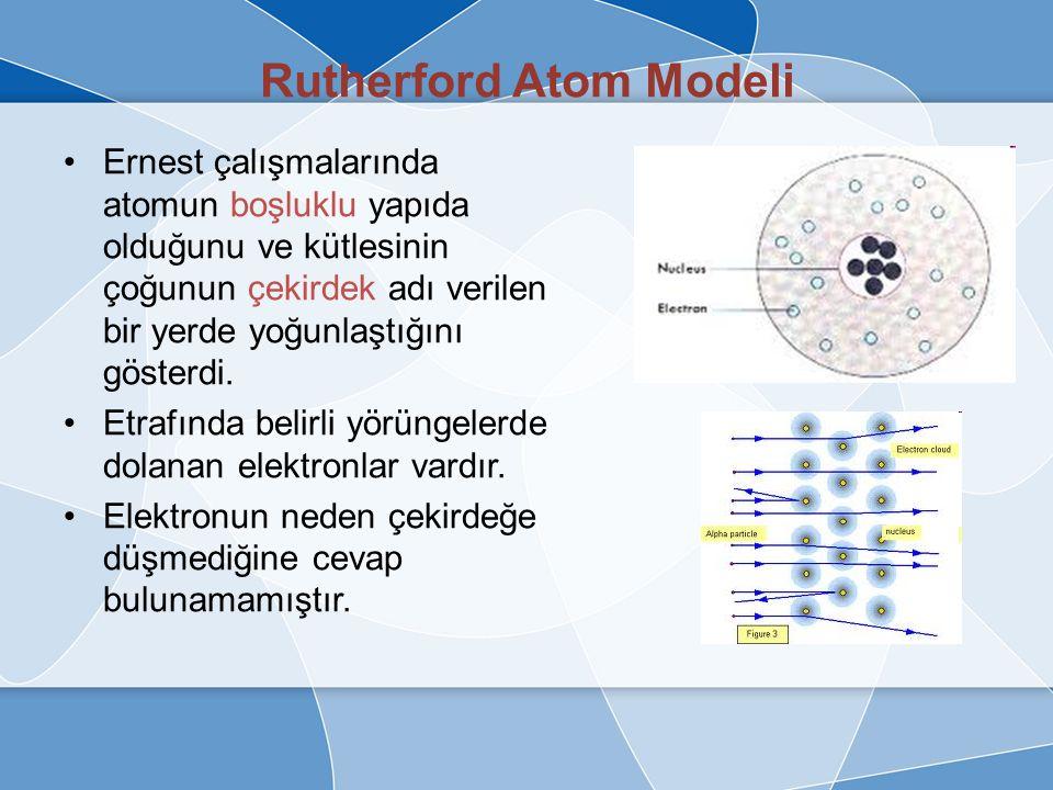 Thomson Atom Modeli Helmholtz'un atomun içerisinde varsaydığı elektrik atomuna George Stoney elektron adını vermiştir. Thomson atom modelinde maddenin