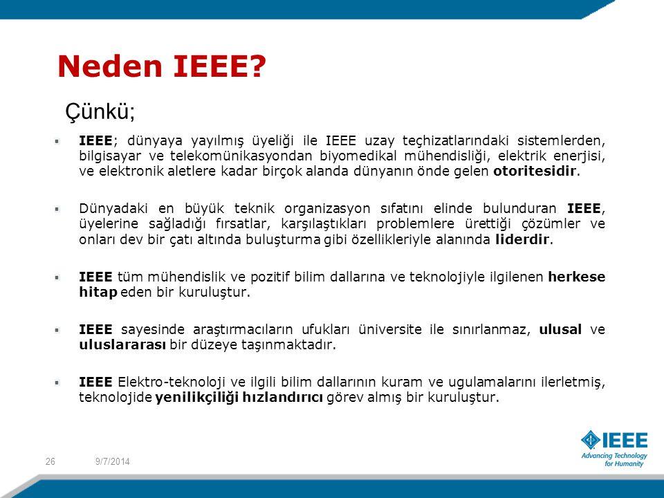 Neden IEEE.