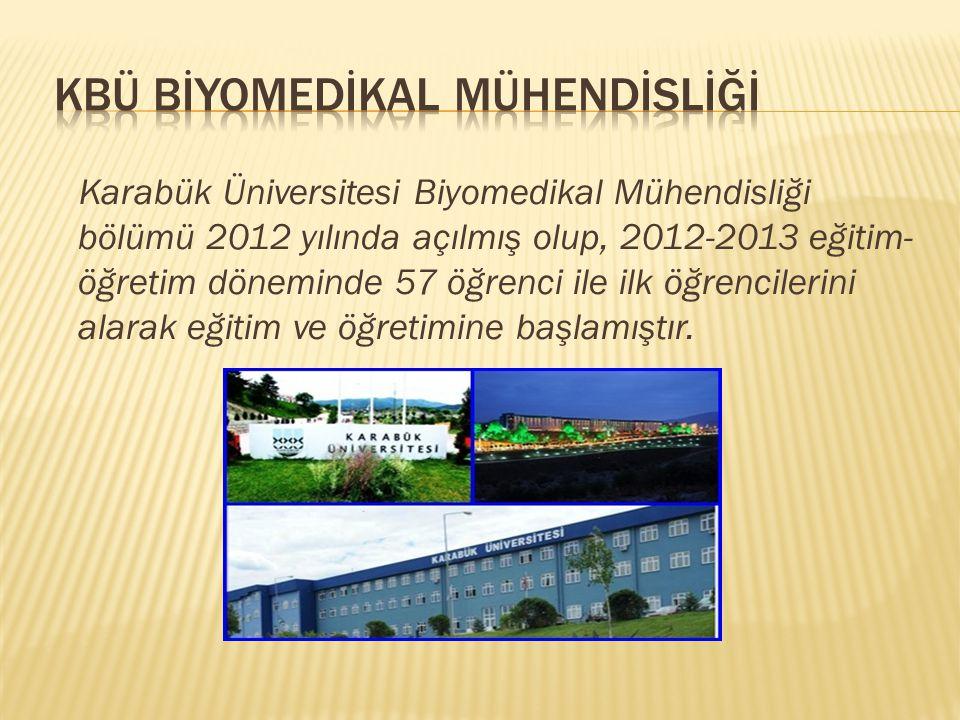 Karabük Üniversitesi Biyomedikal Mühendisliği bölümü %30 ingilizce 1.öğretim örgün eğitim vermekle birlikte, bu bölümde tüm öğrencilere zorunlu ingilizce hazırlık sınıfı okutulmaktadır.