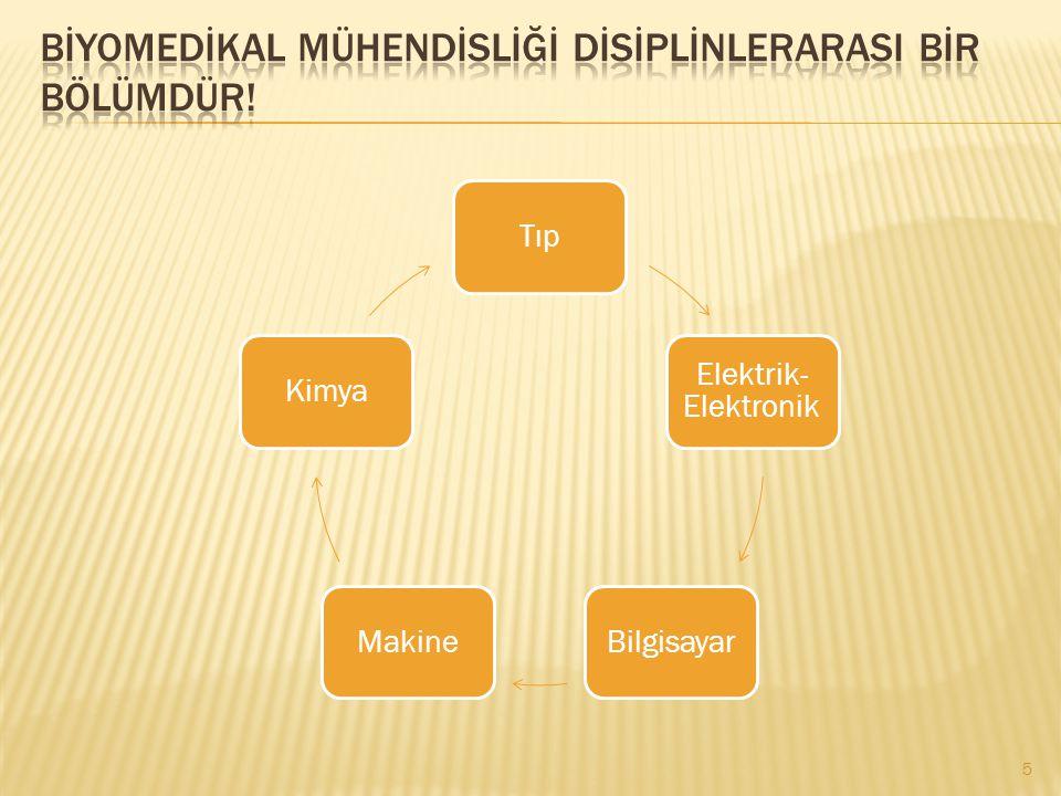 Tıp Elektrik- Elektronik BilgisayarMakineKimya 5