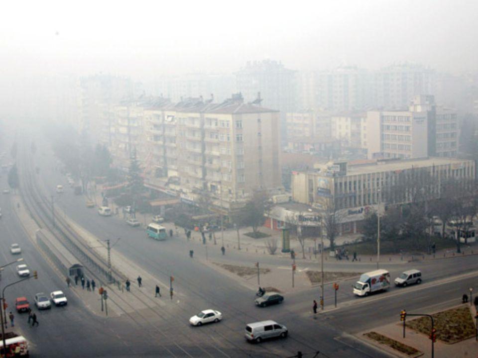 Bu kirleticiler 2 şekilde oluşuyorlar; 1)Kirletici kaynaklarından atmosfere doğrudan verilen kirleticiler (kükürtdioksit, azot oksitler, karbon monoksit, hidrokarbonlar).