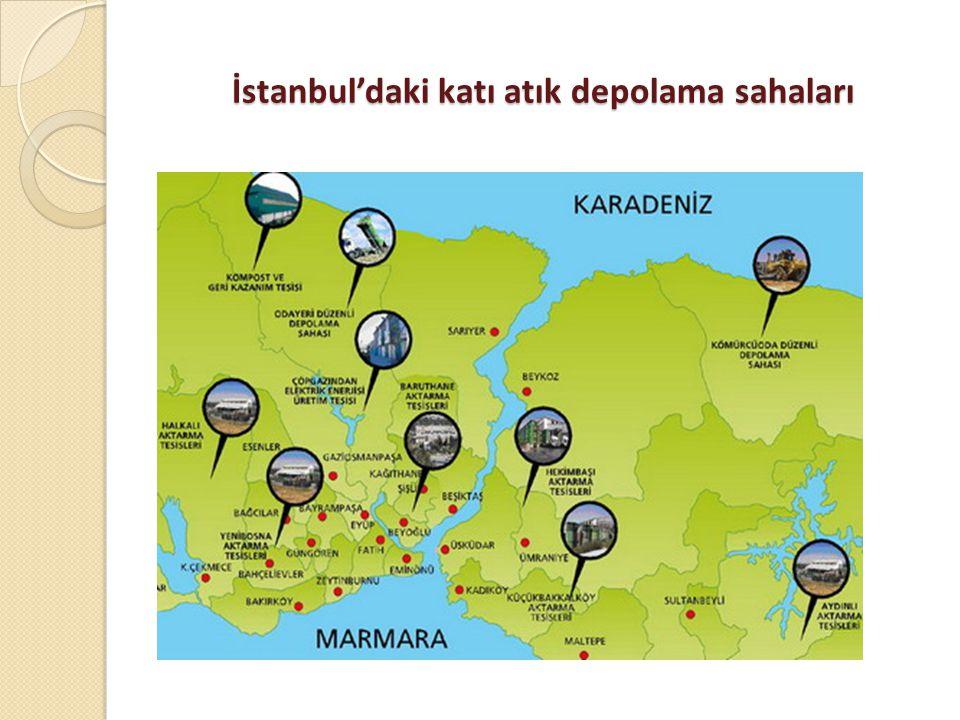 İstanbul'daki katı atık depolama sahaları