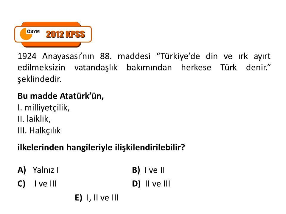 Mustafa Kemal, Hiçbir sınır tanımayarak dünyadaki bütün Türkleri bir devlet olarak birleştirmek, ulaşılamayacak bir amaçtır.