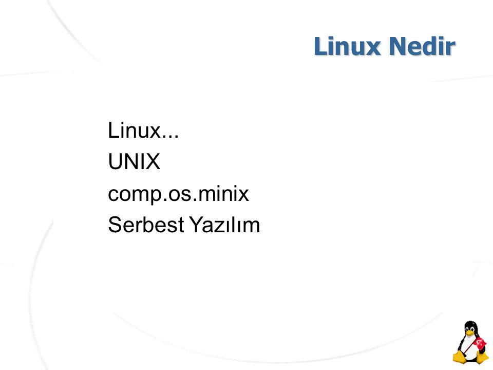 AKÜ İnternet Haftası Etkinlikleri Linux Nedir Linux Nedir Linux...