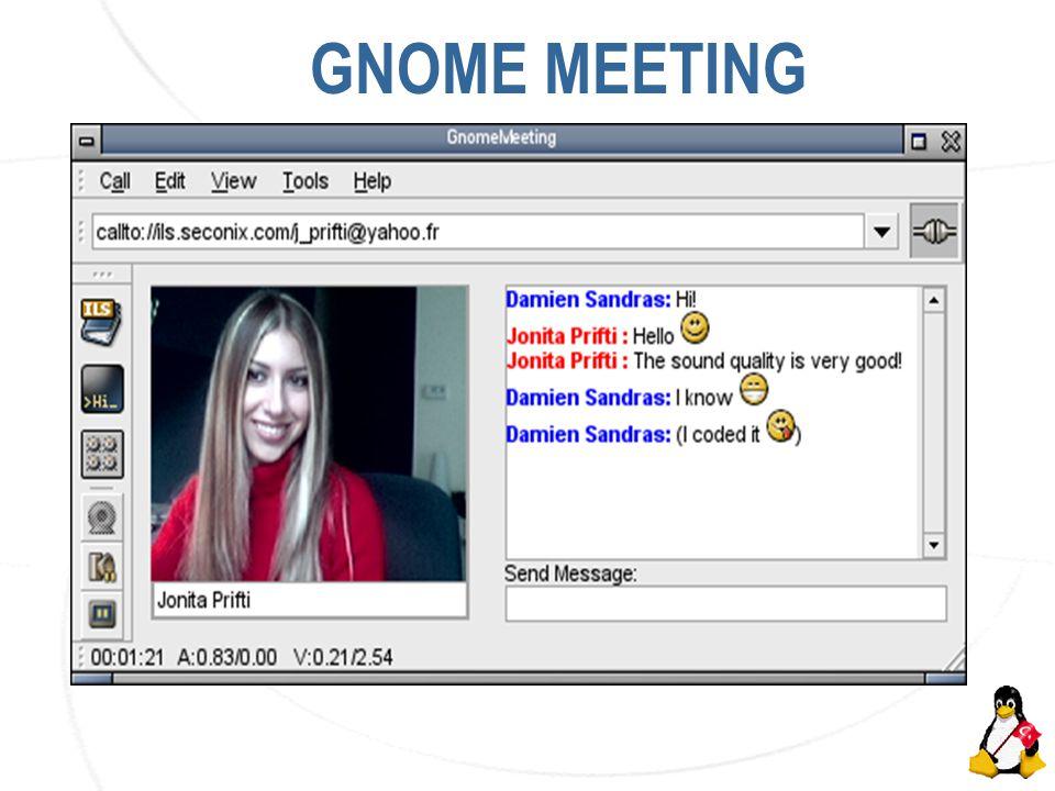 AKÜ İnternet Haftası Etkinlikleri GNOME MEETING