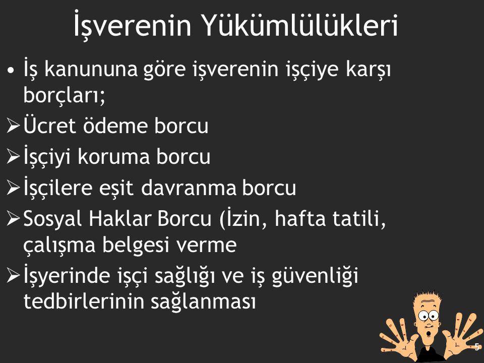 66 İŞ KAZALARI