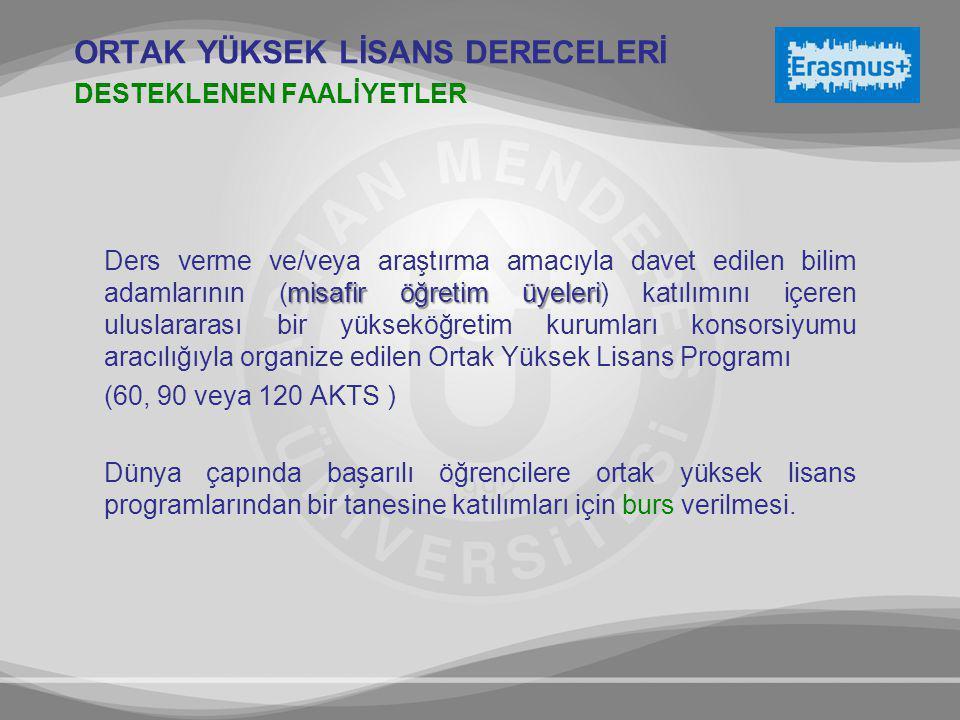 misafir öğretim üyeleri Ders verme ve/veya araştırma amacıyla davet edilen bilim adamlarının (misafir öğretim üyeleri) katılımını içeren uluslararası