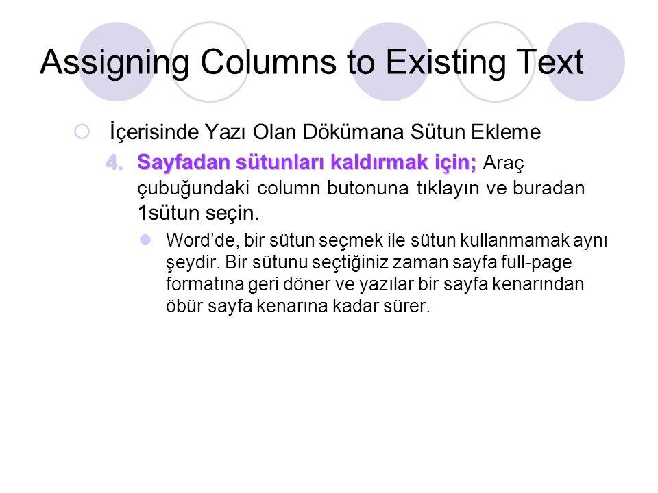 Word Outline'ından Power Point Hazırlamak Word Outline'ını PowerPoint Sunumuna Eklemek 1.Programların içerisinden Microsoft PowerPoint'i başlatın 2.Blank presentation seçeneğinin seçili olduğundan emin olun.