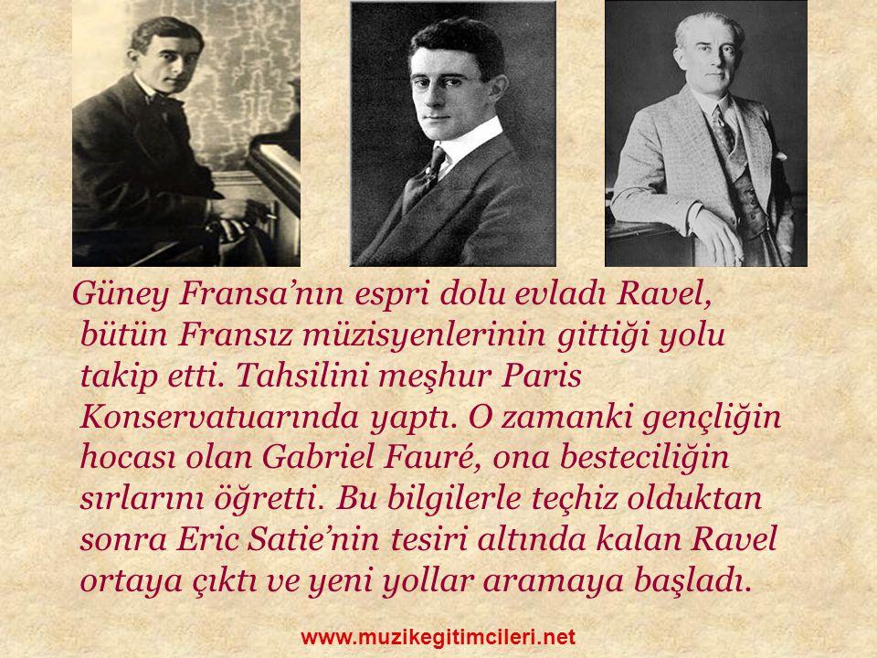 Ravel, çekingen ve içine kapanık bir karaktere sahipti.Bu denli ba ş arılı olmasının da nedeni belki de buydu.