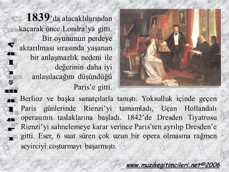 1839 'da alacaklılarından kaçarak önce Londra'ya gitti. Bir oyununun perdeye aktarılması sırasında yaşanan bir anlaşmazlık nedeni ile değerinin daha i