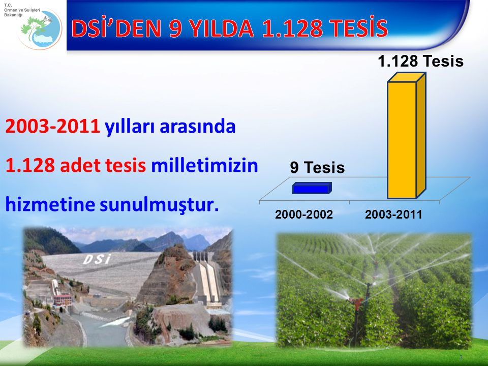 1.Adalı Barajı Proje Hazırlanması 2.Manyas II.Merhale Projesi Manyas Ovası Sol Sahil Sulaması ve Bereketli Ovası Sulaması Proje Hazırlanması 3.