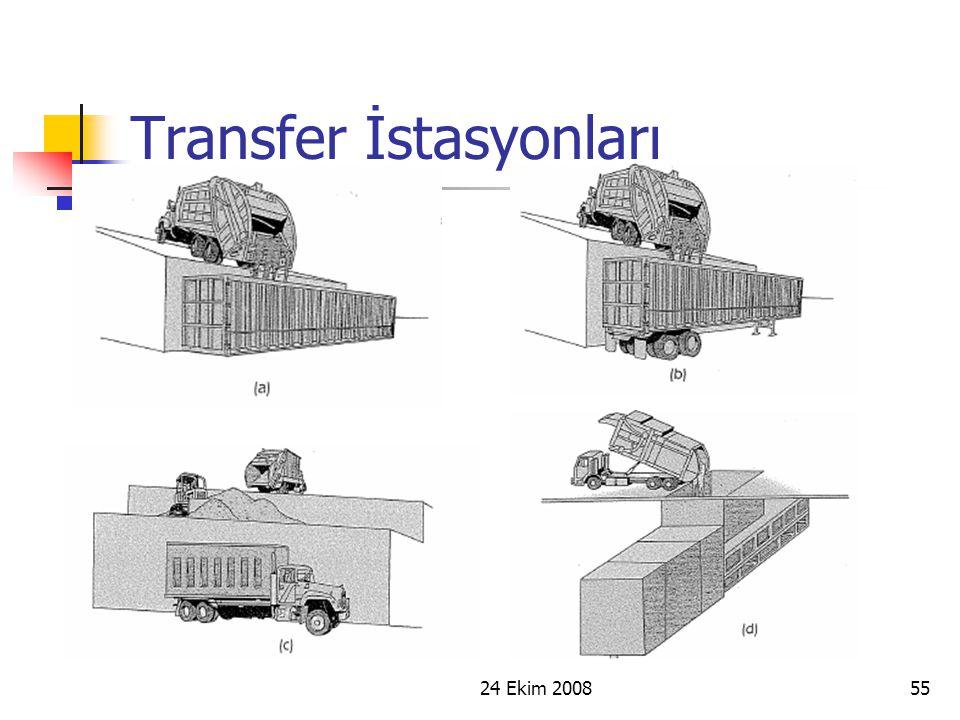 24 Ekim 200855 Transfer İstasyonları