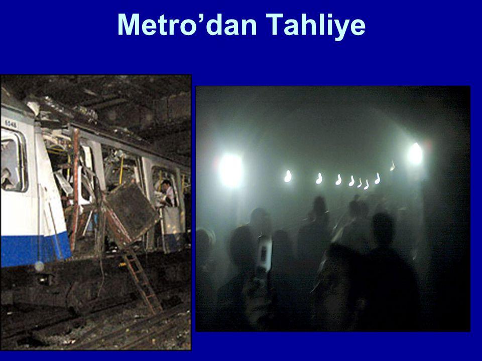 Metro'dan Tahliye