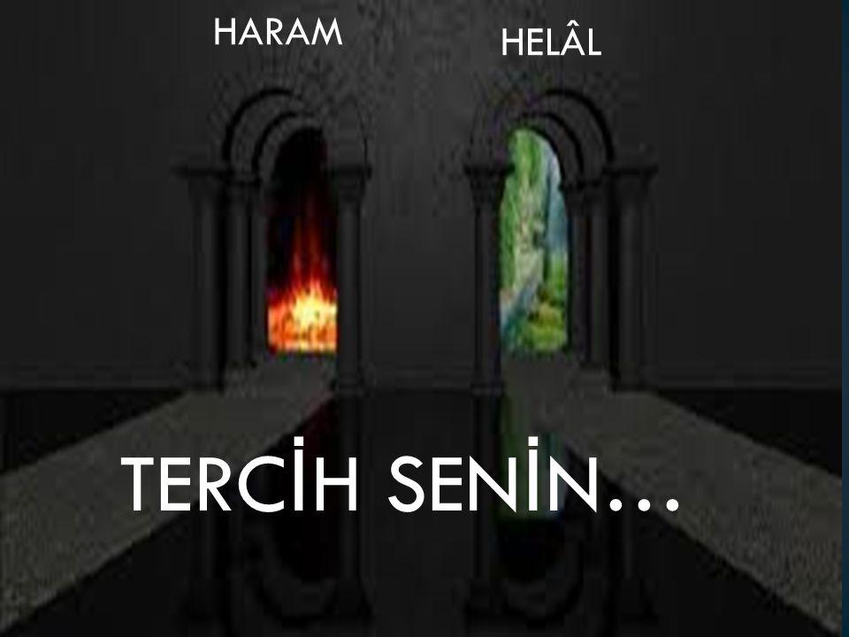 TERC İ H SEN İ N… HELÂL HARAM