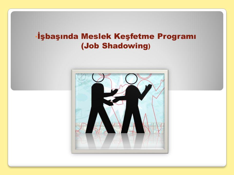 İşbaşında Meslek Keşfetme Programı (Job Shadowing )