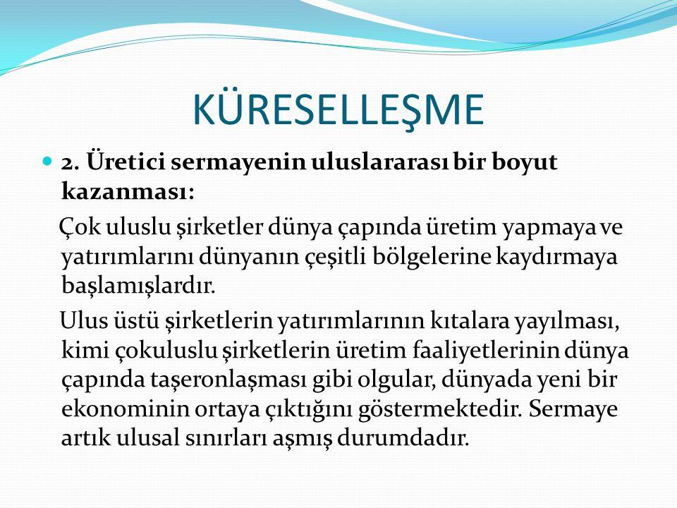 KÜRESELLEŞME 2.