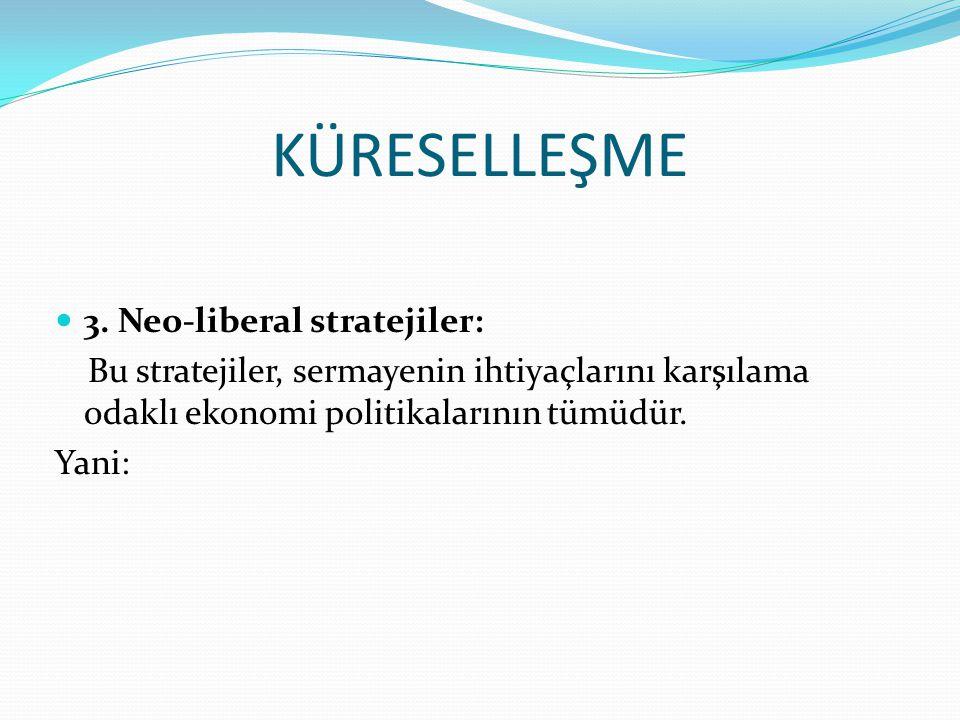 KÜRESELLEŞME 3.