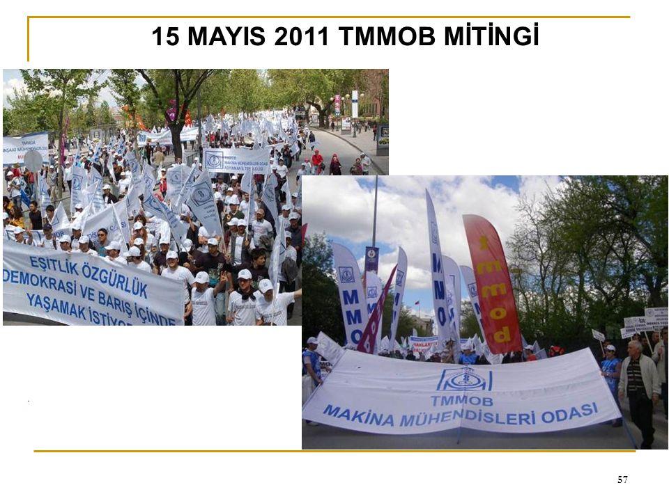 0 57 15 MAYIS 2011 TMMOB MİTİNGİ