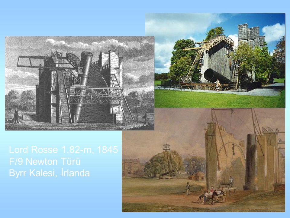 Lord Rosse 1.82-m, 1845 F/9 Newton Türü Byrr Kalesi, İrlanda