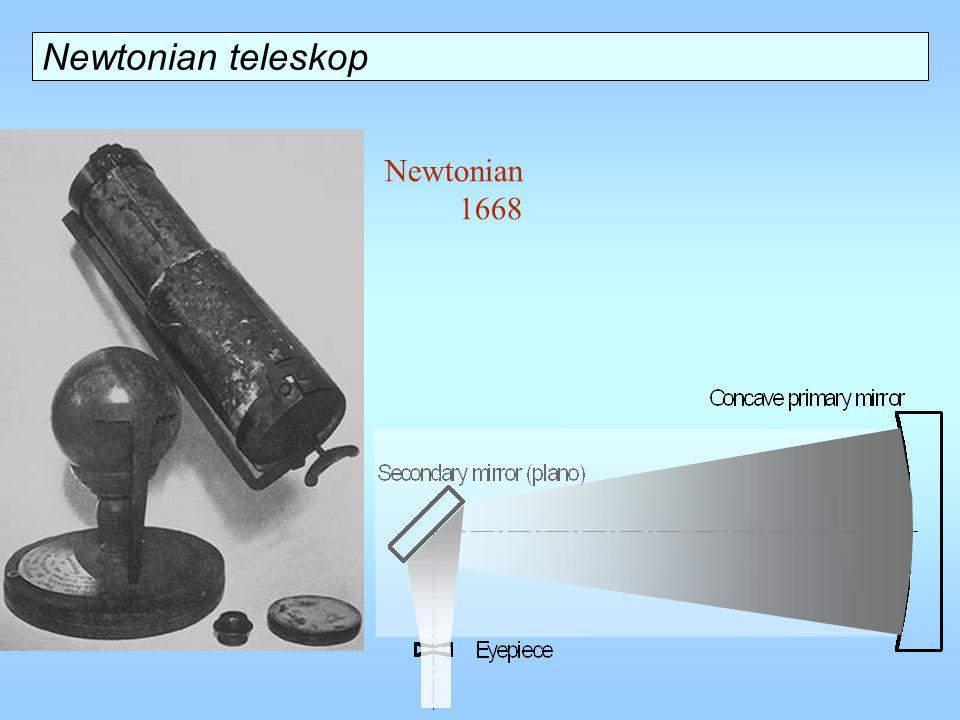 Newtonian 1668 Newtonian teleskop