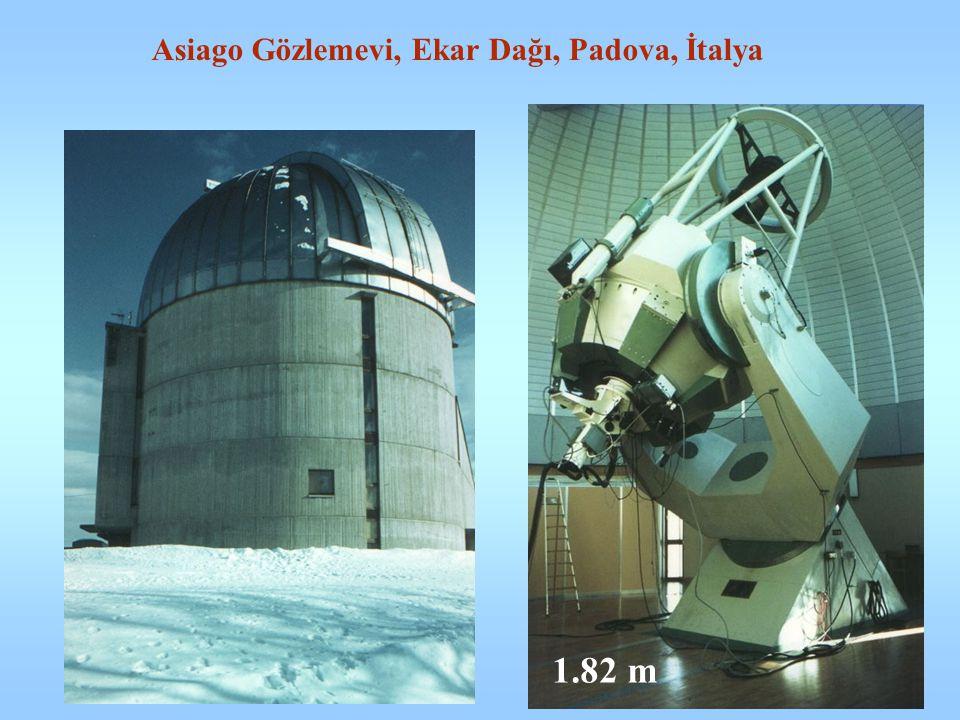 Asiago Gözlemevi, Ekar Dağı, Padova, İtalya 1.82 m
