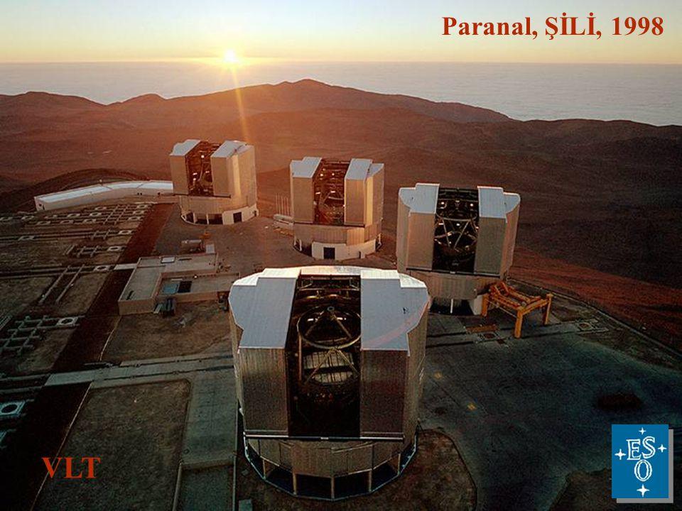 Paranal, ŞİLİ, 1998 VLT