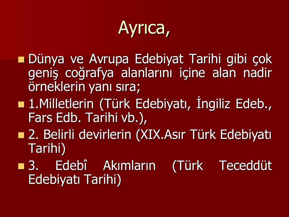 4.Türlerin (Türk Tiyatro Edebiyatı) 4.
