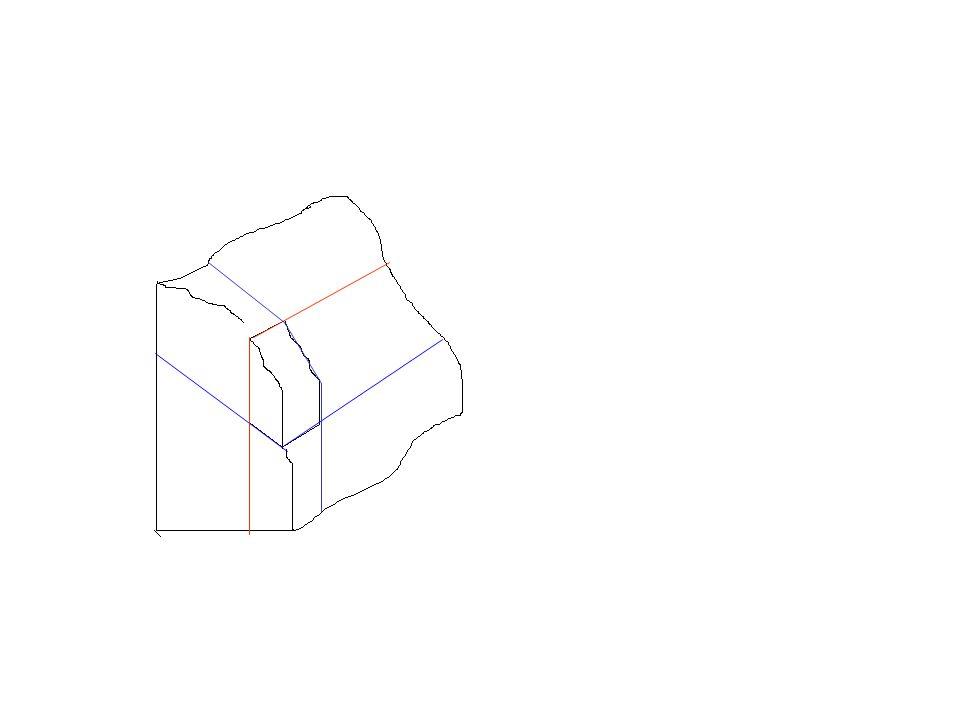 b-Çizgisel akıntı yapısı: Uzun veya prizmatik kristallerin aynı doğrultuda dizilmeleri ile ortaya çıkan yapıdır.