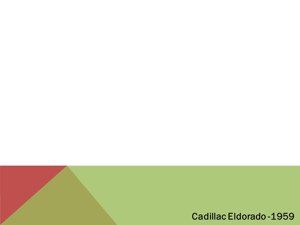 Cadillac Eldorado -1959