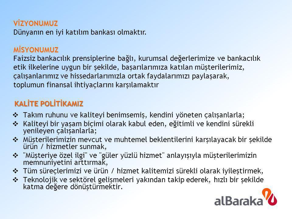 İŞE ALIM SÜRECİ Albaraka Türk e iş başvurusu yapan adaylarda şu özellikler aranmaktadır;  Üniversitelerin bankacılıkla ilgili bölümlerinden mezun olmak,  28 yaşını aşmamış olmak,  Tercihen yabancı dil biliyor olmak.