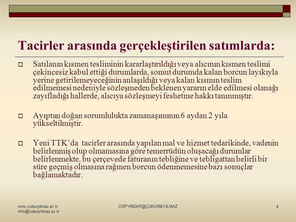 www.cukuryilmaz.av.tr info@cukuryilmaz.av.tr COPYRIGHT@ÇUKUR&YILMAZ25 TALATPAŞA BULVARI NO:11/3 ALSANCAK/İZMİR 0232 465 07 07 www.cukuryilmaz.av.tr