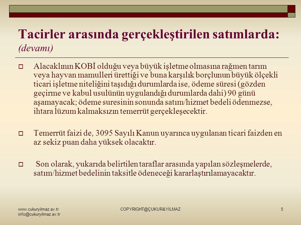 www.cukuryilmaz.av.tr info@cukuryilmaz.av.tr COPYRIGHT@ÇUKUR&YILMAZ16 YENİ TTK İLE YÖNETİM KURULU ÜYELERİNE GETİRİLEN YENİLİKLER (devamı)  Yönetim kurulunun aldığı kararlara katılmayan üyeler, muhalefet şerhi yazabilecektir.